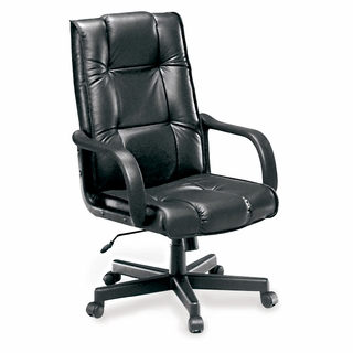 OFM Executive Conference Hi-Back Leather Chair - 520-L - Click to enlarge