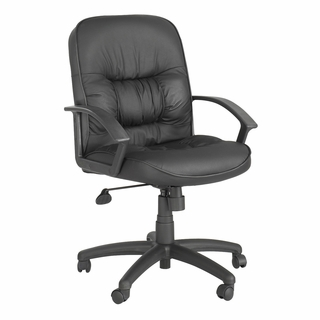 Serenity Mid-Back Executive Chair - 3472 BL - Click to enlarge