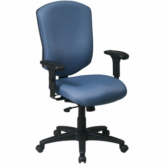 Office Star Work Smart High-Back Executive Chair - 41572 - Click to enlarge