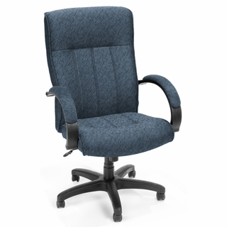 OFM Upholstered Executive / Conference Hi-Back Chair - 452 - Click to enlarge