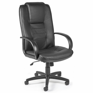 OFM Promotional High Back Leather Chair - 500-L - Click to enlarge