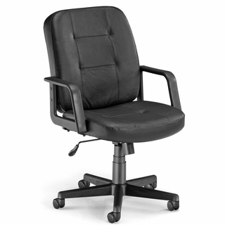 OFM Executive / Conference Low-Back Leather Chair - 505-L - Click to enlarge