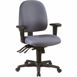 Office Star Work Smart Multi-Function Ergonomic Office Chair - Click to enlarge