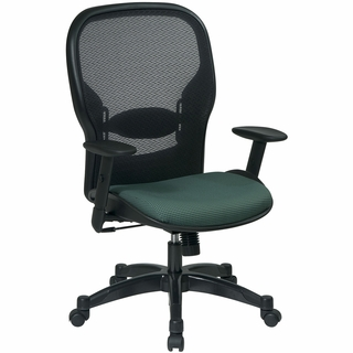 Office Star Space Professional Managers Chair with Adjustable Arms - 2387C - Click to enlarge
