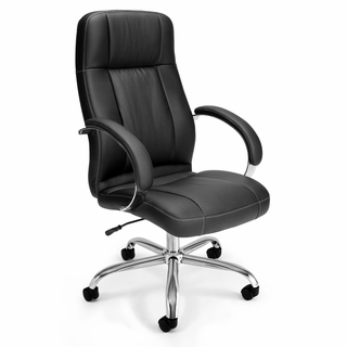 OFM Hi-Back Leatherette Executive / Conference Chair - 516-LX - Click to enlarge