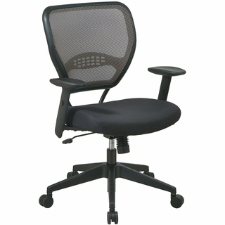 Office Star Space AirGrid Back Task Chair - 55-38N17 - Click to enlarge