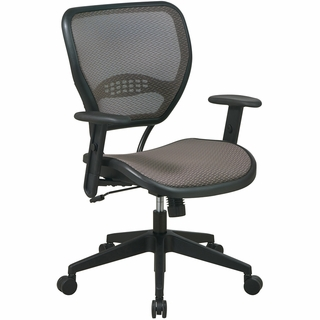 Office Star Space Deluxe AirGrid Back Task Chair - 55-8N15 - Click to enlarge