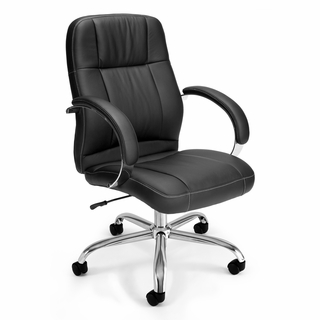 OFM Hi-Back Leatherette Executive / Conference Chair - 517-LX - Click to enlarge