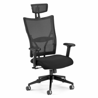 OFM Ultimate Executive Fabric Mesh Chair Hi-Back - 590-F - Click to enlarge