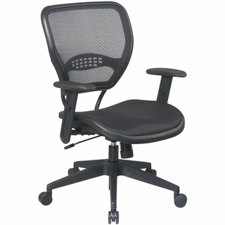 Office Star Space Task Chair with Adjustable Angled Arms - 5560 - Click to enlarge