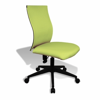 Ergo Office Armless Ergonomic Task Chair - X5323 - Click to enlarge