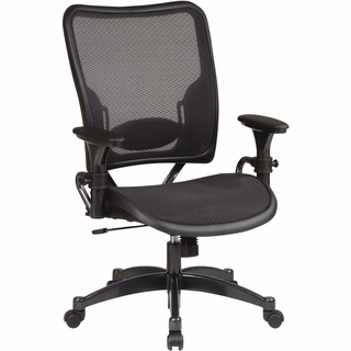 Office Star Space Deluxe AirGrid Managers Chair - 6216 - Click to enlarge