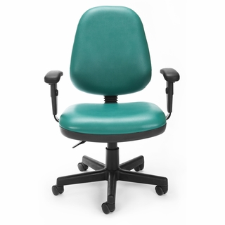 OFM Anti-Microbial/Anti-Bacterial Posture Task Chair - 119-VAM - Click to enlarge
