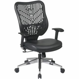 Office Star Space Epicc Series Self-Adjusting Back Managers Chair (Vinyl Seat) - 88-Y33BP91A8 - Click to enlarge