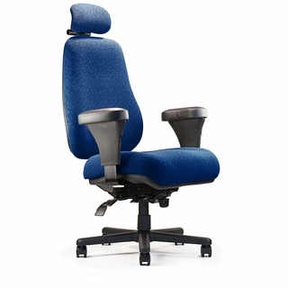Neutral Posture Big & Tall Series High-Back Extra Large Seat Office Chair - BTC10100-H4 - Click to enlarge
