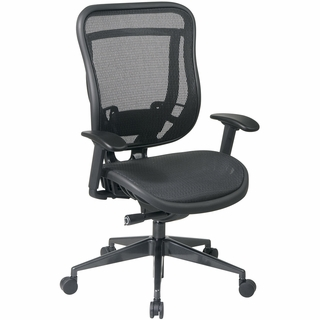 Office Star Space Breathable Mesh Seat & Back Office Chair - 818-11G9C18P - Click to enlarge