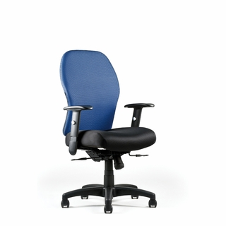 Neutral Posture Right Chair Series Mesh Back Task Chair - RCT7235-S - Click to enlarge