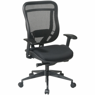 Office Star Space Breathable Mesh Back Office Chair - 818-31G9C18P - Click to enlarge