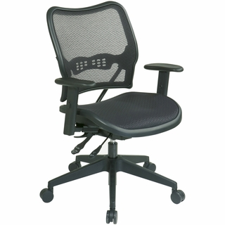 Office Star Space AirGrid Dual-Function Office Chair - 13-77N9WA - Click to enlarge