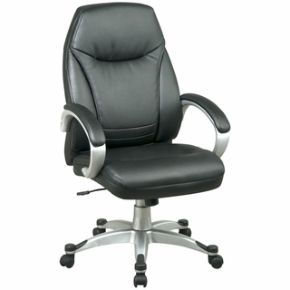 Office Star Work Smart Deluxe High-Back Office Chair - FL80006-U6 - Click to enlarge