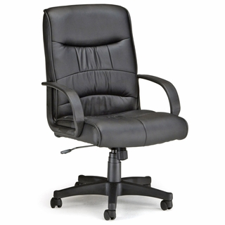 OFM Executive Mid Back Leatherette Chair - 508-LX - Click to enlarge