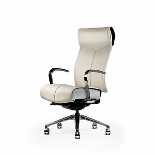 Neutral Posture NV Conference Series Leather Office Chair - NV4108-B15-ultraleather - Click to enlarge