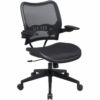 Office Star Space AirGrid Seat & Back Office Chair - 13-77N1P3 - Click to enlarge