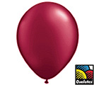 Balloons Pearl Burgundy Latex