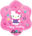 Balloons Hello Kitty Balloon Happy Birthday Shaped