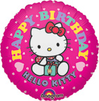 Balloons Hello Kitty Birthday Balloon