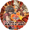 Balloons Bakugan Happy Birthday Balloon