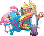 Balloons Tropical Value Pack