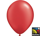 Balloons Pearl Ruby Red Latex
