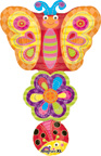 Butterfly Balloons Spring Stacker Balloon