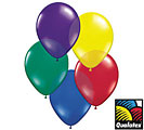 Balloons Radiant Jewel Latex Balloons Bulk 100