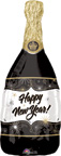 Balloons New Year Champagne Bottle Balloon