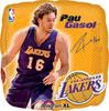 NBA Los Angeles Lakers Pau Gasol Player Balloon