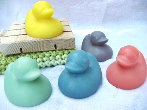 Rubber Ducky Soaps--Set of 2--