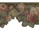 Floral Swag Wallpaper Border 682780 <br> CLEARANCE!! QUANTITIES LIMITED!!