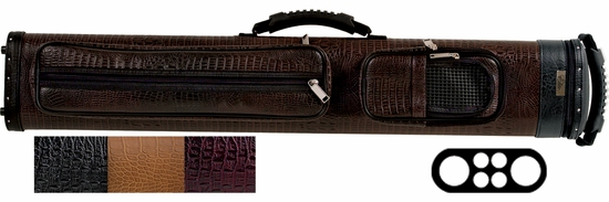 Elite Leatherette 2 Butt 4 Shaft Pool Cue Case