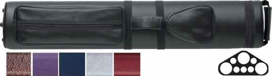 action pool cue case 3 butts 5 shafts