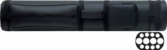 Action Pool Cue Case - 4 Butts, 8 Shafts