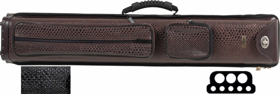Elite Nexus Reserve Pool Cue Case - 3 Butts, 5 Shafts