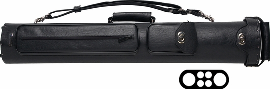 Instroke Pool Cue Case - Premier 2 Butts 4 Shafts