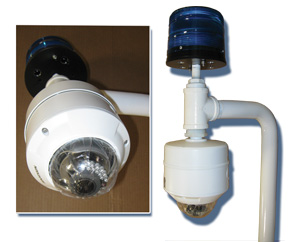 Dome Cameras (Fixed or PTZ)