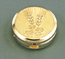 Bright Gold Wheat Pyx