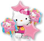 Balloons Hello Kitty Balloon Bouquet