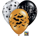 Halloween Latex Balloons Spooky Assortment 16""