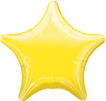 Star Balloons Yellow Star Balloon