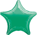 Star Balloons Green Star Balloon